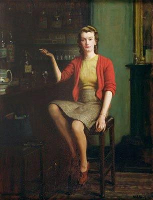 In a Bar by Frederick Elwell, 1943
