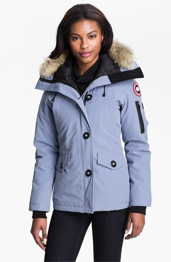 Women's Canada Goose' 'Victoria' Slim Fit Down Parka With Genuine