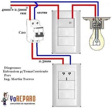 Resultado De Imagen Para Como Hacer Una Instalacion Electrica Basica Instalaciones Electricas Basicas Instalacion Electrica Instalacion Electrica