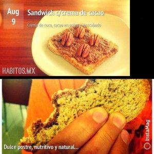sandwich de nutela