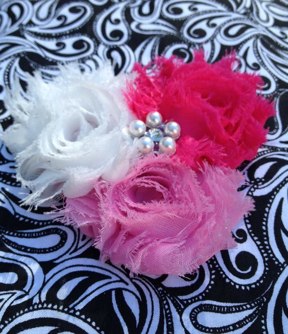 """""""New Swing"""" shabby chic clip by MorgansBowteek on Etsy!"""