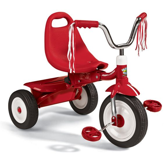Fold 2 Go Trike triciclo pieghevole rosso
