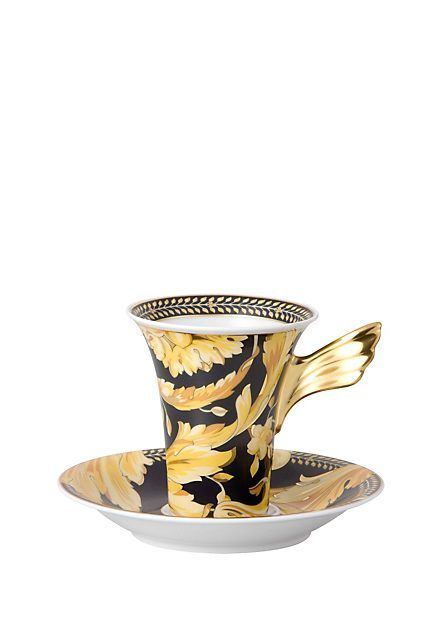 Vanity Cup & saucer 4 tall