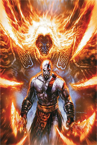 kratos vs ares god of war ambrosia pinterest war