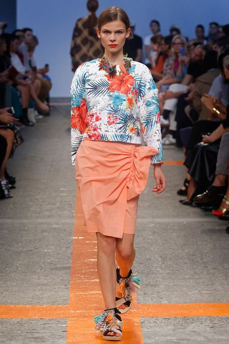 MSGM Spring 2014 Ready-to-Wear Collection Slideshow on Style.com