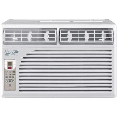 Arctic Wind 8000 BTU Energy Star Window Air Conditioner with Remote