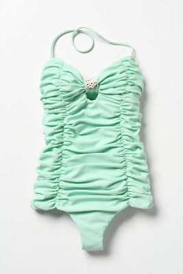 Minty Retro Bathing Suit