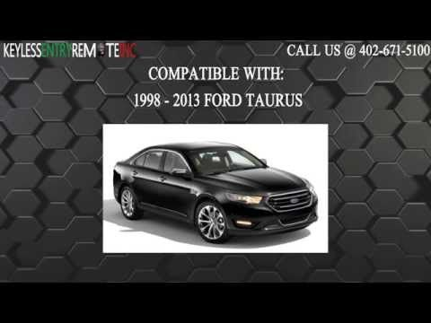 How To Change The Battery In A 1999 2011 Ford Taurus Key Fob Remote Key Fob Programming Instructions Key Fob Taurus Remote