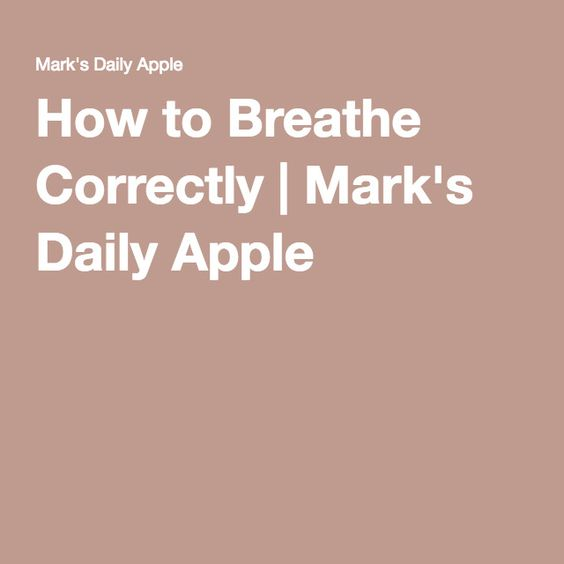How to Breathe Correctly Pinterest To breathe, How to breathe - presume v assume