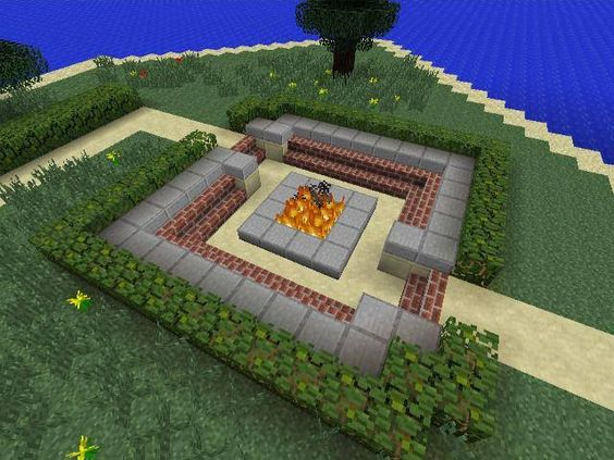 Minecraft Creative Tips Tricks: I Like It, You Could Make A Lever To Put Out The Fire And