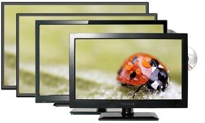 Groupon - Proscan LED 720p HDTV with Built-in DVD Player (Manufacturer…
