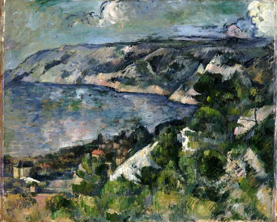 Paul Cézanne (1839-1906) Bay of L'Estaque 1879-1883. Oil on canvas. 60,3 x 74,3 cm. Philadelphia Museum of Art, Philadelphia. 1963-116-21.