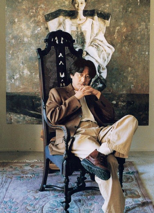 artist Lu Jian Jun (aka Lu Jianjun, b1960, Hangzhou, Zhejiang Pr, China)