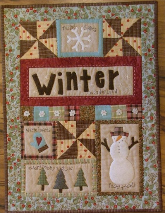 Winter Mini Quilt