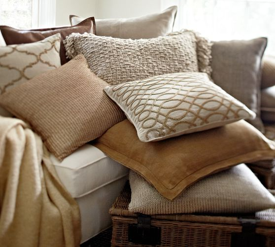 Pillow Covers Pottery Barn And Rustic Luxe On Pinterest