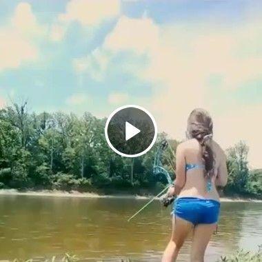 Isso foi uma pesca certeira de flecha!!!