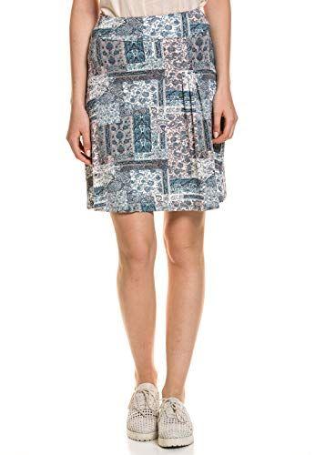 Tom Tailor Damen Rock Kleid Skirt Stretch Komfort Damen Kleider Rock