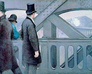 Gustav Caillebotte - Le Pont de l'Europe (The Europe-bridge)
