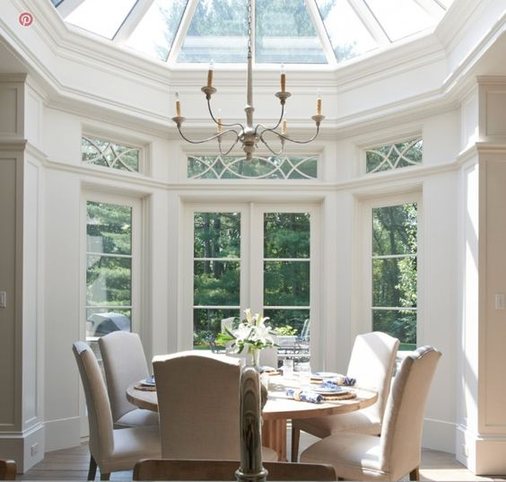 in good taste brooks and falotico design chic dining rooms pinterest nooks conservatory. Black Bedroom Furniture Sets. Home Design Ideas