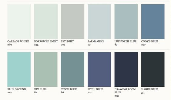 Farrow And Ball Chinese Blue Paint