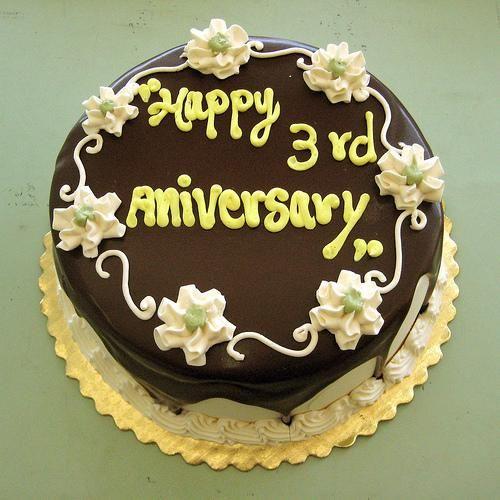 Wedding anniversary 3rd