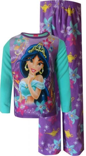 Disney princess jasmine fleece pajamas and princess jasmine on pinterest - Robe jasmine disney ...