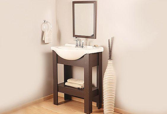 Gabinete De Baño Keila:Ideal para un cuarto de baño minimalista