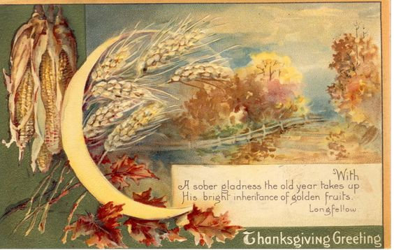 vintage thanksgiving - Google Search