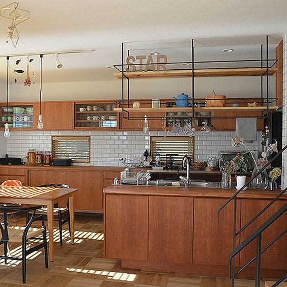 造作キッチン 家具職人 インテリア 統一 おしゃれ 実例