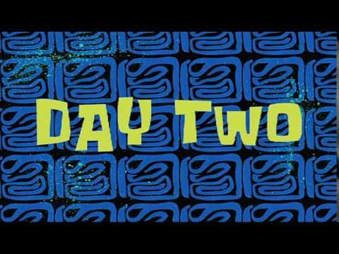 Day Two Spongebob Time Card 5 Youtube Spongebob Time Cards Spongebob Spongebob Episodes