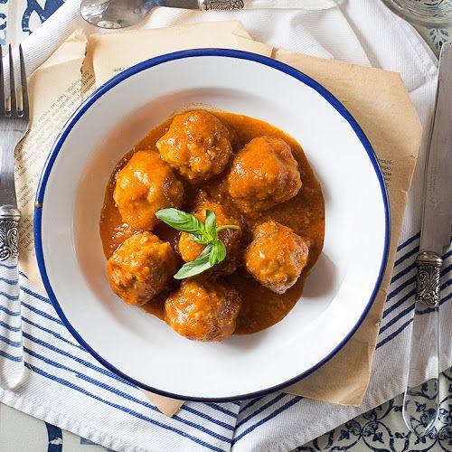 Jaleo En La Cocina Albóndigas Caseras En Salsa Napolitana Un Clásico Que No Hay Que Olvidar Albóndigas Caseras Salsa Napolitana Albondigas Receta