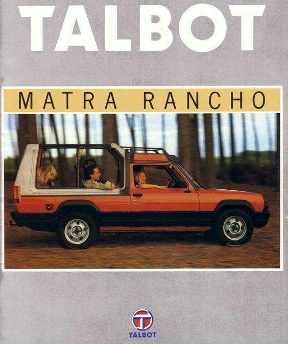 Talbot-Matra Rancho.