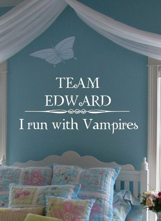 Twilight Removable Vinyl Sticker Wall Words by greatwallsoffire, $19.95