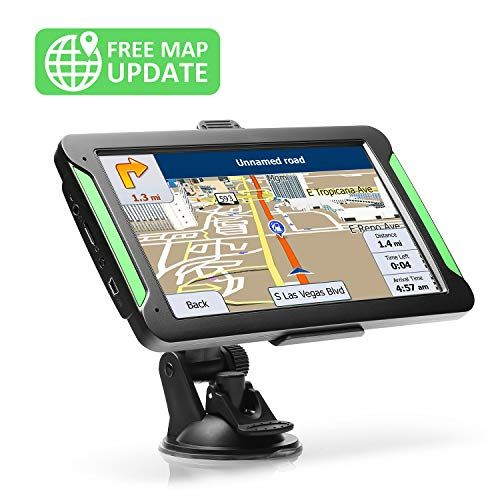 Gps Navigation For Car Lttrbx 7 Touch Screen 8gb Real Voice
