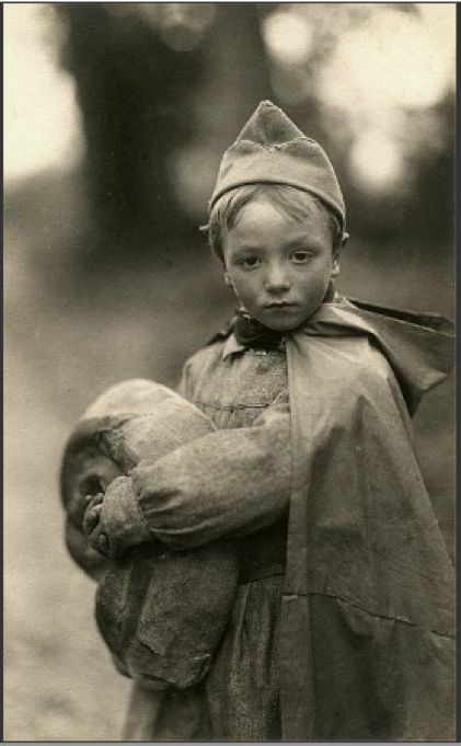 From Morgan Library & Museum Exhibit: 'Faces of War - devastated France 1917-24',....touching..