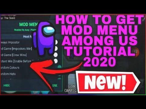 Among Us Mod Menu 2020 How To Always Be Impostor Mod Game App Hacks