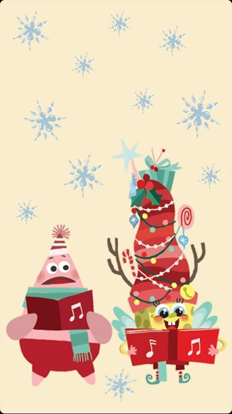 Nickelodeon Christmas : nickelodeon, christmas, Nickelodeon, Wallpaper, Instagram, Iphone, Christmas,, Spongebob, Wallpaper,, Merry, Christmas