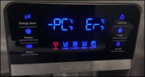 Samsung Refrigerator Error Fault Codes How To Reset Samsung Refrigerator Samsung Coding