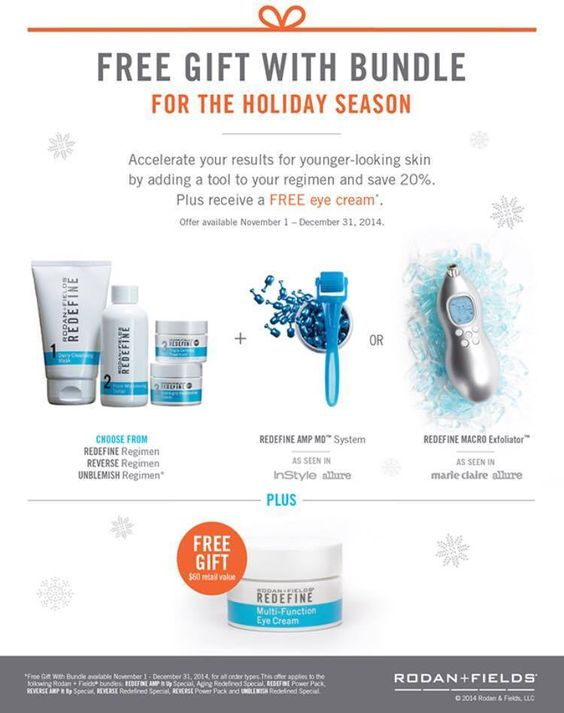 Specials for the holidays.  Ask me how 707-484-1506