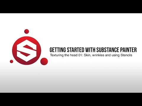 Substance Painter Tutorial #7 - Texturing the head: Part One - YouTube