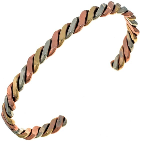 Navajo Twist Wire Cuff 24816 | Alltribes