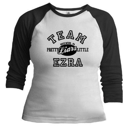 Pretty Little Liars Team Ezra T-shirt