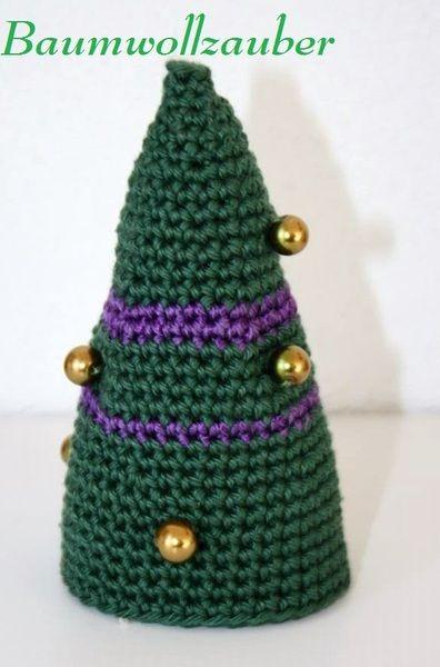 KC 19 Deco Weihnachtsbaum von Baumwollzauber auf DaWanda.com