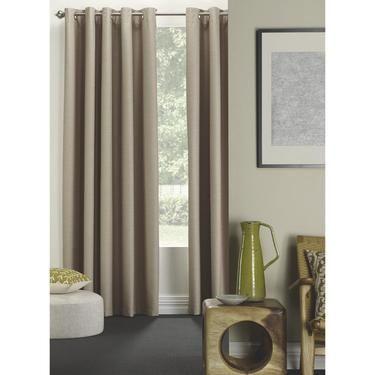 Curtains Ideas curtains in australia : Belmondo Colton Eyelet Curtains Latte 140 - 220 x 223 cm ...