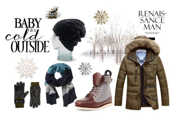 """""""Coldish"""" by fahira-1 ❤ liked on Polyvore featuring Home Decorators Collection, Psyberia, Coal, Banana Republic, Christophe Fenwick, mens, men, men's wear, mens wear and male"""