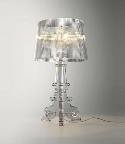 Lampe Bourgie De Kartell Par Ferruccio Laviani En Polycarbonate Transparent Lampe Bourgie Luminaire Lamp