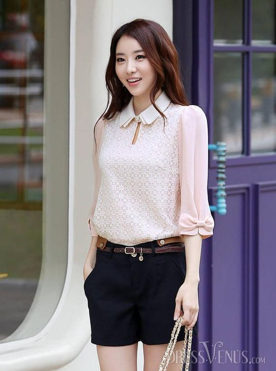 Typical Korean blouse
