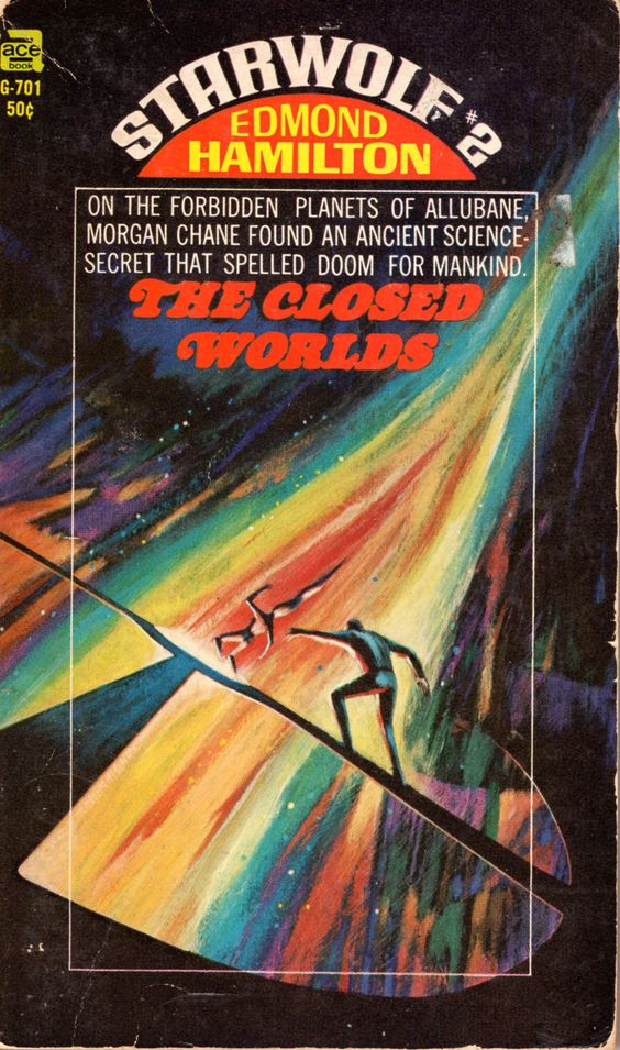 Starwolf #2: The Closed Worlds - Edmond Hamilton, cover by Jack Gaughan