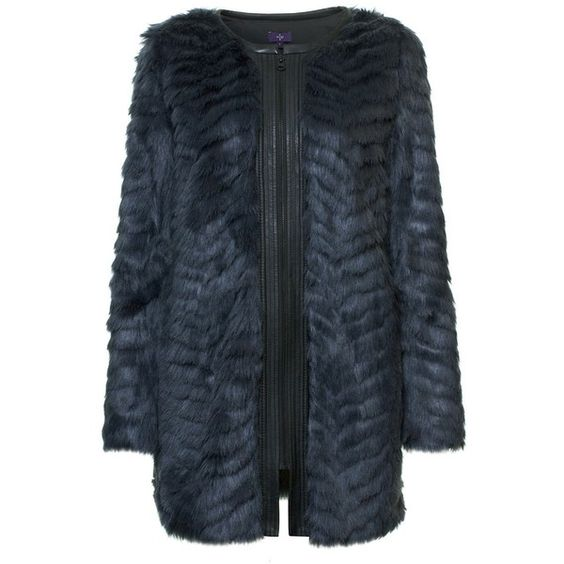 Magical night blue fur coat (1.935 VEF) ❤ liked on Polyvore featuring outerwear, coats, summer coat, blue fur coat, blue coat and fur coat