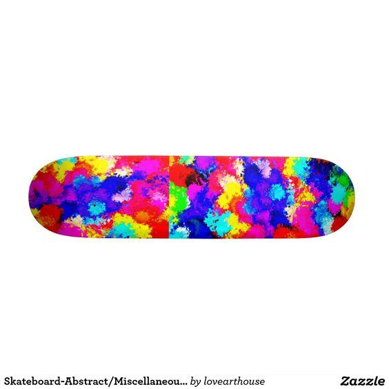 Skateboard-Abstract/Miscellaneous-Abstract Art 11 Skateboard Deck